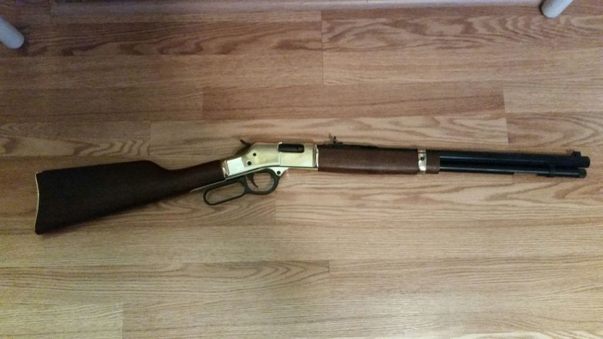 Gun Rifle Henry Power