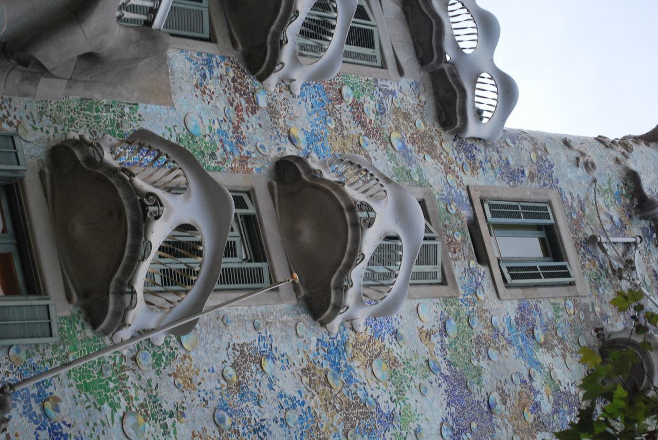 Architecture Balcon Balcony Barcelona Barcelona, Spain Building Building Exterior Built Structure Casa Batllo Casa Batllo. Gaudi Catalonia Catalunya Day Gaudi Indoors  Low Angle View No People SPAIN Window