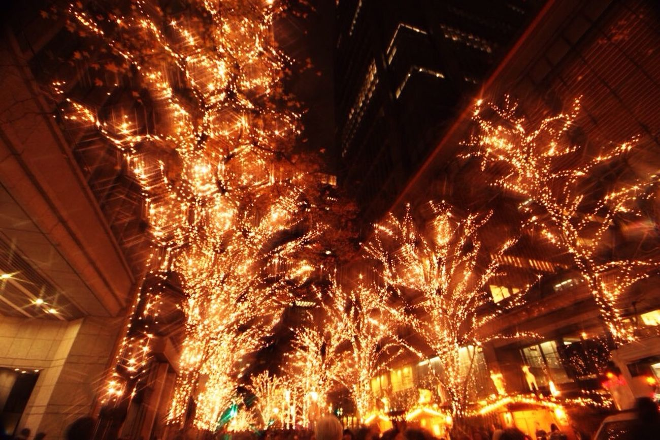 やっぱり丸の内のイルミネーションが1番素敵♡ Hello World Tokyo,Japan Illumination Lightup Marunouchi My Winter Favorites Taking Photos Famous Place