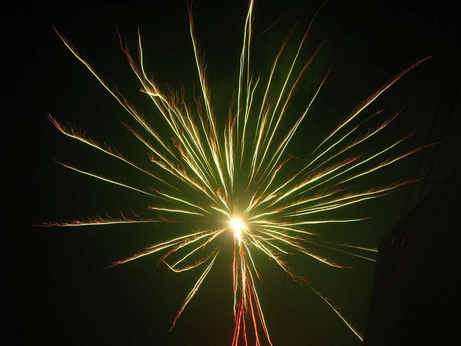 Firework Display Motion Outdoors Night Nofilter NYE Celebration