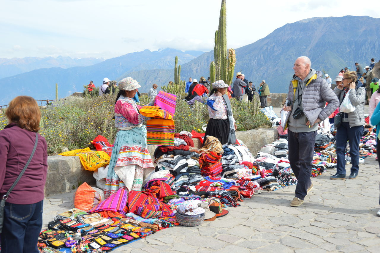 EyeEmNewHere Colour Colourful Colors Peruvian Culture Peruvian Handicrafts Peruvian Clothes Traditional Dress Women Selling Market Peru Colca  Colca Canyon Candid Travel Traveling