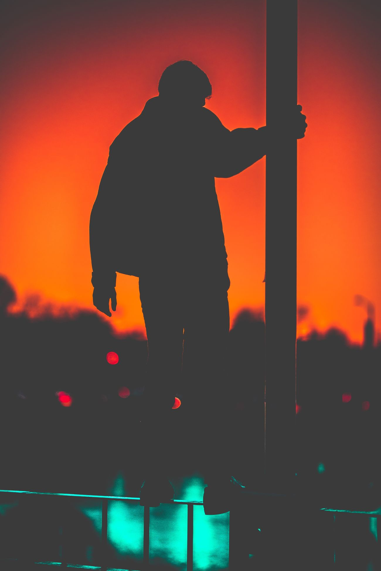 Silhouette One Person Standing Real People One Man Only Men Arts Culture And Entertainment Sunset People Adults Only Outdoors Adult Only Men Day