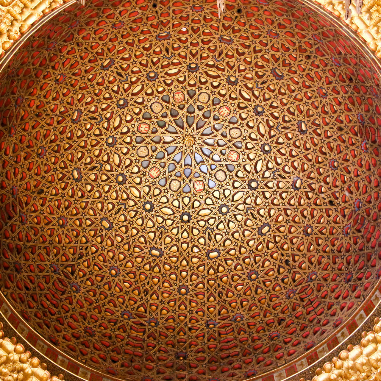 Alcazar Architecture Close-up Day Historical Building Indoors  Interior Decorating No People Pattern Textured
