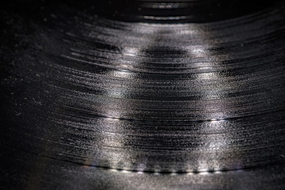 Audio Tracks Audiophile Audiotecnica Disc Macro Photography Music Record Surface Level Vintage