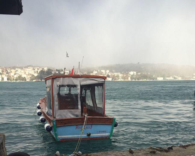 Good City Traveling Istanbul Bridge Weather Morning Istanbul Turkey Goodmorning Hello World