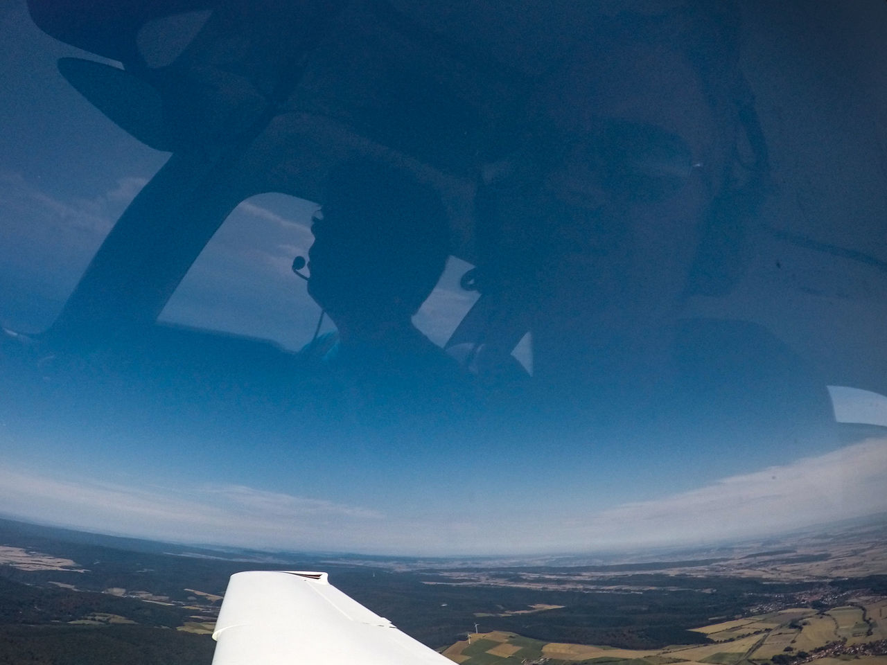 Flying over Germany Aerial View Day Family Flying Flying High Germany Landscape No People Outdoors Reflection Scenics Self Portrait Tranquil Scene Travel