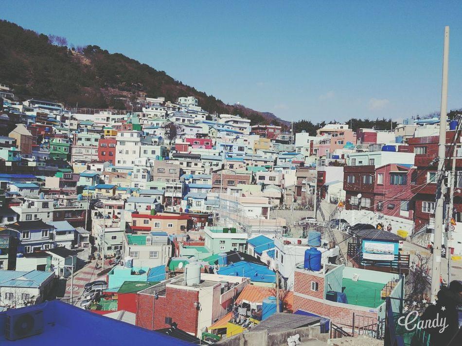 first cut of first trip In Busan Korea Vintage Photo Pastel