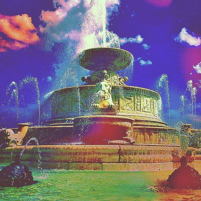 Difficult Second Album Cover Fountain Ornate Belle_isle Public_art