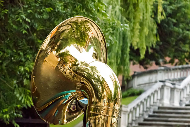 Street Photography Musical Instrument Enjoying Life 43 Golden Moments No People Close-up Tuba Playing Music Leioa  Vizcaya Spain