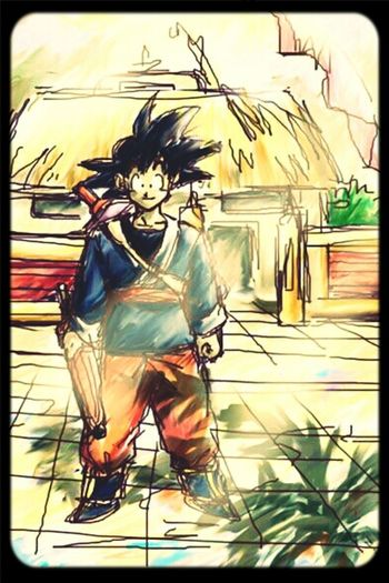 Dragon Ball Z Dragon Ball Goku Songoku son goku First Eyeem Photo