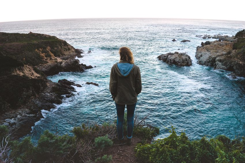 My Favorite Photo They say if you really want to get to know someone, you should travel with them. So, I'm taking my girlfriend with me as I travel to see and document the beauty of the world where we will also face missed flights, language barriers, cramped trains, and more. Big Sur First Eyeem Photo California Coast Roadtrip Highway 1 Travel