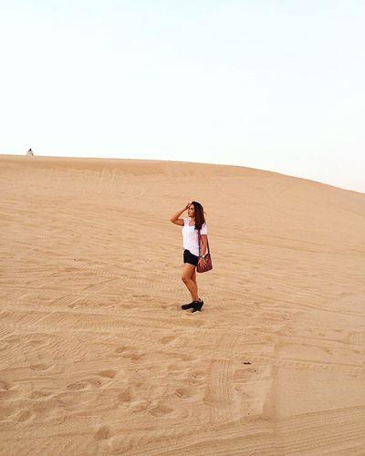 Desert Desert Sand Dune Outdoors Landscape Nature Middle East Adventure Dry Climate Orange Travel Dubai The Week On EyeEm