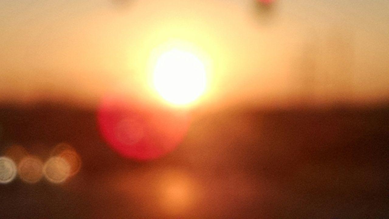 Defocused Image Of Sun