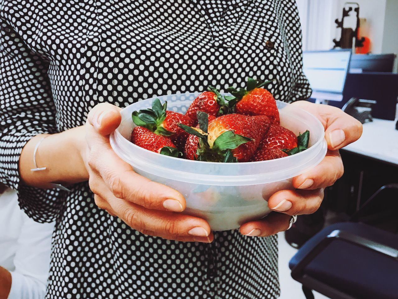 76/365 Midsection Holding Food Human Hand Freshness Healthy Eating Fruit Women One Person Lifestyles Food And Drink Human Body Part Real People Close-up Adult Adults Only People Day Women Around The World