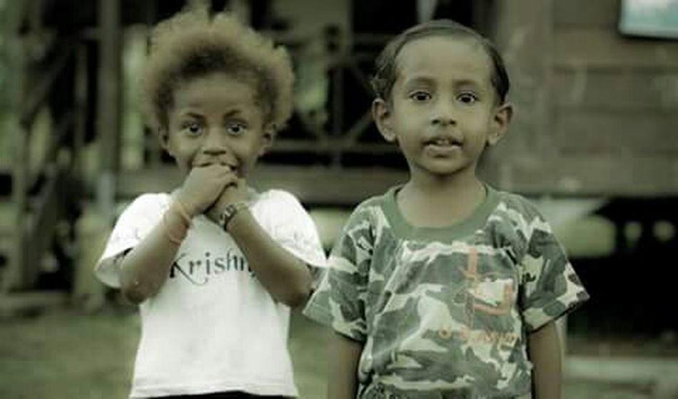 Face of Innocent Papuabarat Kidsphotography The Portraitist - 2015 EyeEm Awards