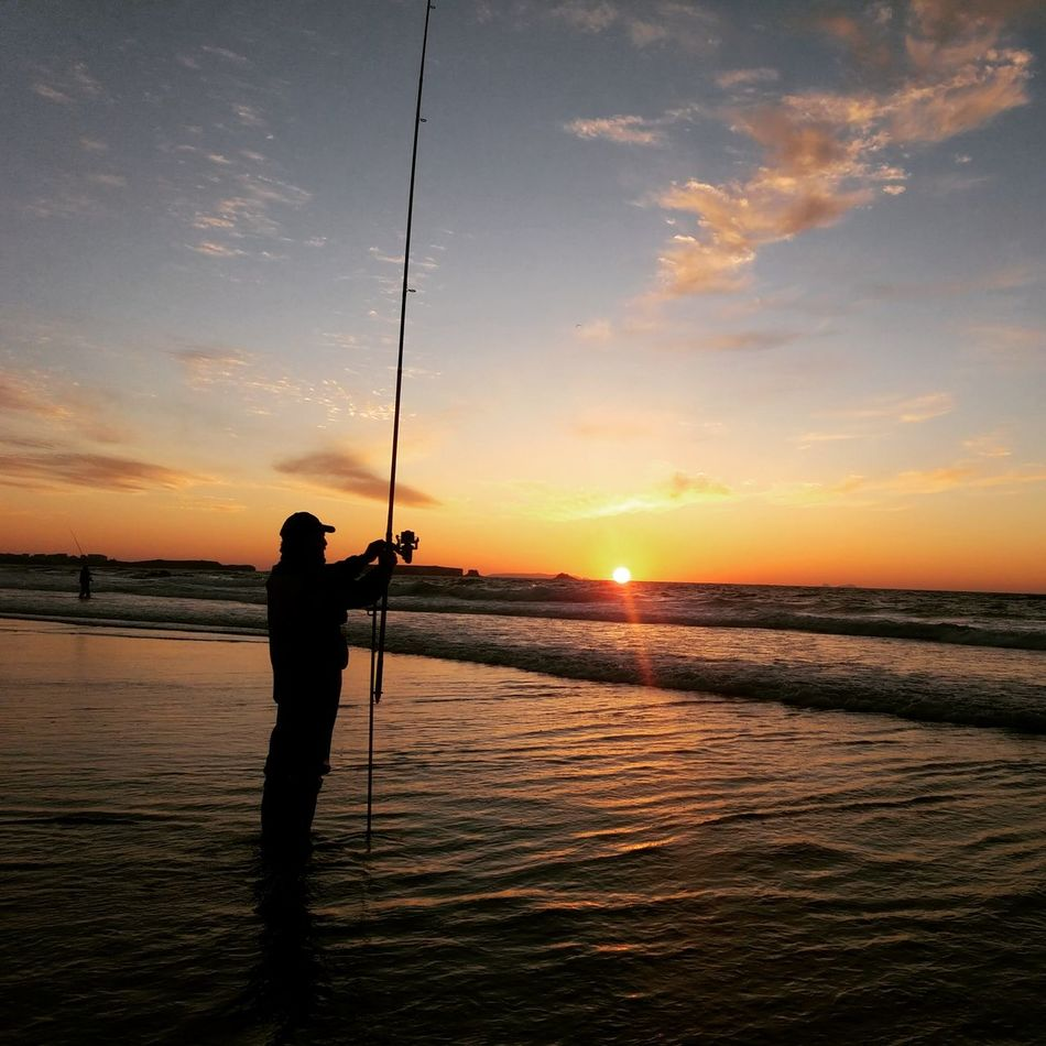 Pescador AO Por Do Sol First Eyeem Photo Wave Majestic Calm Seascape Cloud Cloud - Sky Sky Nature Beach Sun Tranquility Beauty In Nature Sunset Scenics Water Horizon Over Water Sea Tranquil Scene Portugal
