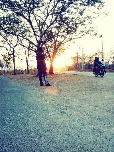 Morning Walk Sunlight Pic Shot Having Fun With Friend Pastel Power