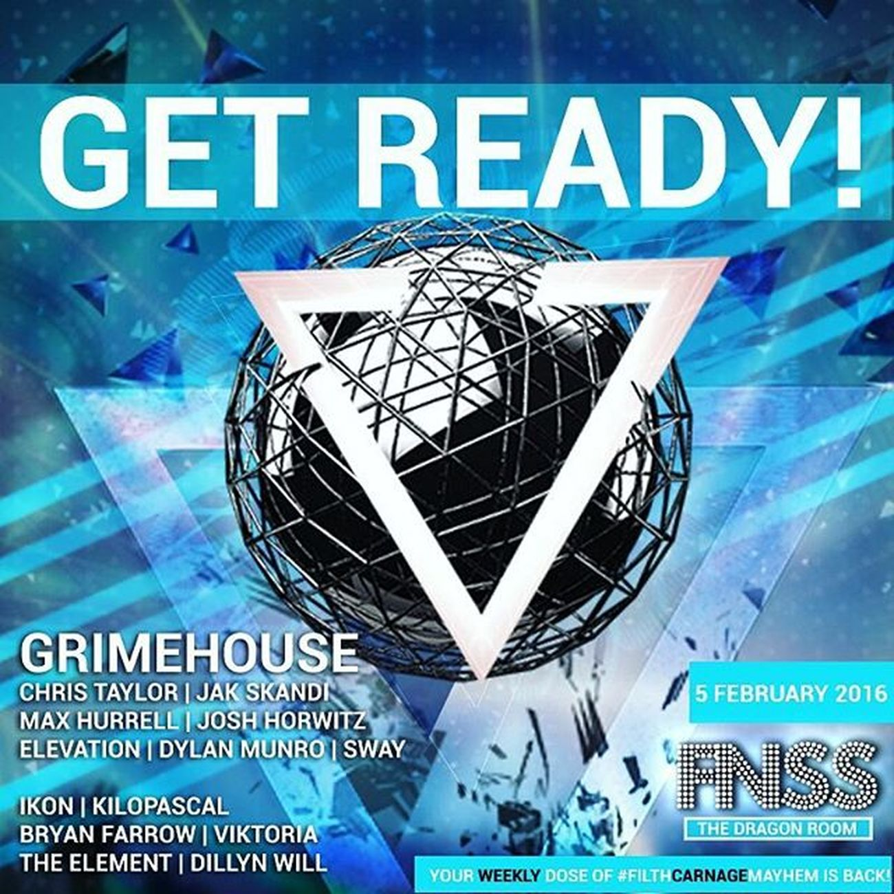 Fnss is back this Friday! 💃 Message me for info 😁 x Fnss5th