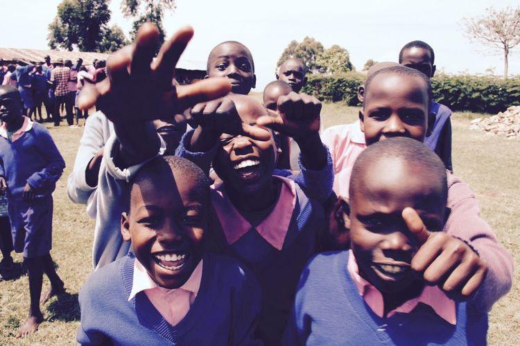School Uniforms Around The World Kenya Kamagap Primary School Riftvalley