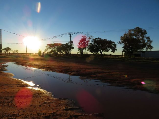 Australia Australian Landscape Beauty In Nature Ontheroad Outdoors Pink Color RedCentre Reflection Scenics Sky Sunlight Sunset Todarwin Water