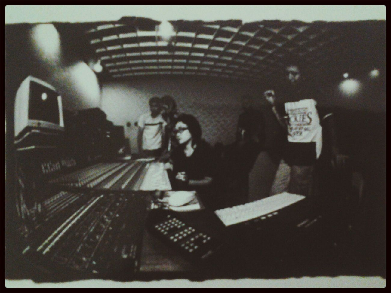 Love That Moment Jetcoasterskaband Mixing Sound @pondokpinangstudio .... it's 14years ago.. nice.. ♡