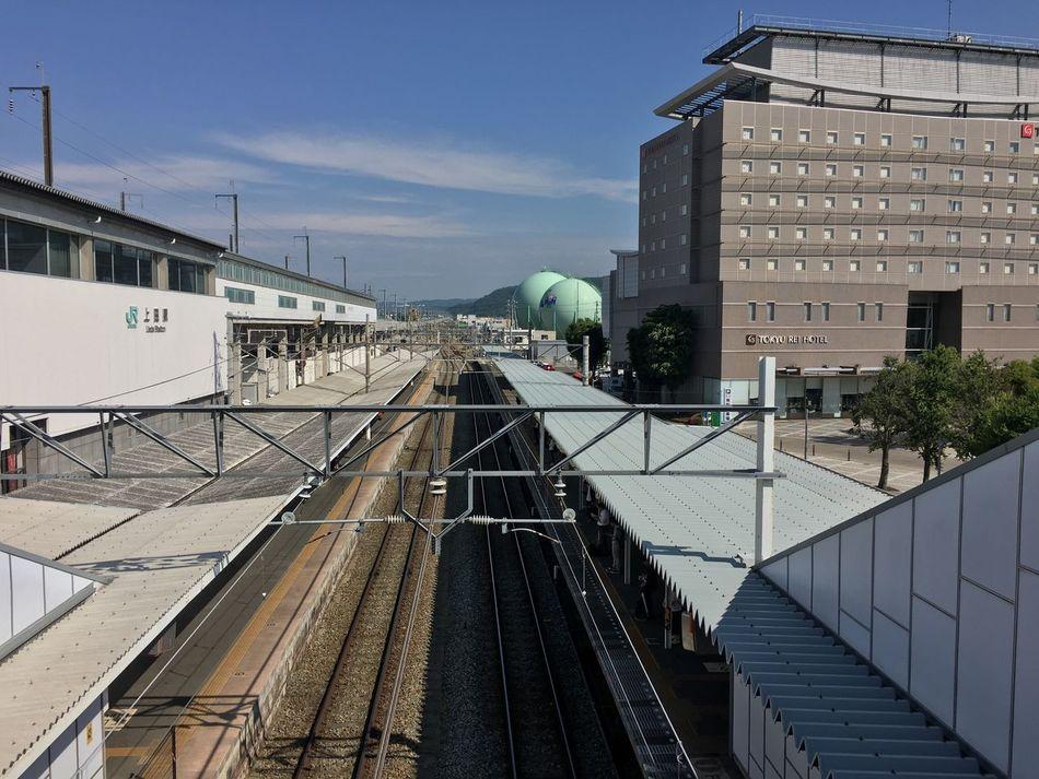 It's Fine Today Railway Station Platform