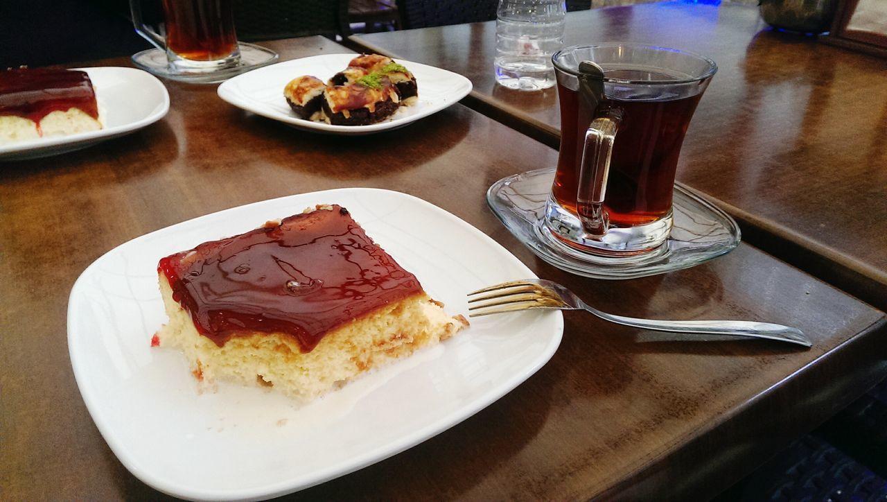 Trileçe çay Dessert Türkischer Tee