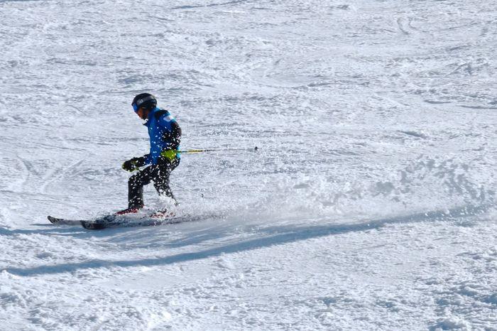 Action Adventure Carefree Day Faqra Faqra Lebanon Faraya Fun Lebanon One Person Outdoors Recreational Pursuit Shore Skiing Skiing ❄ Sunny