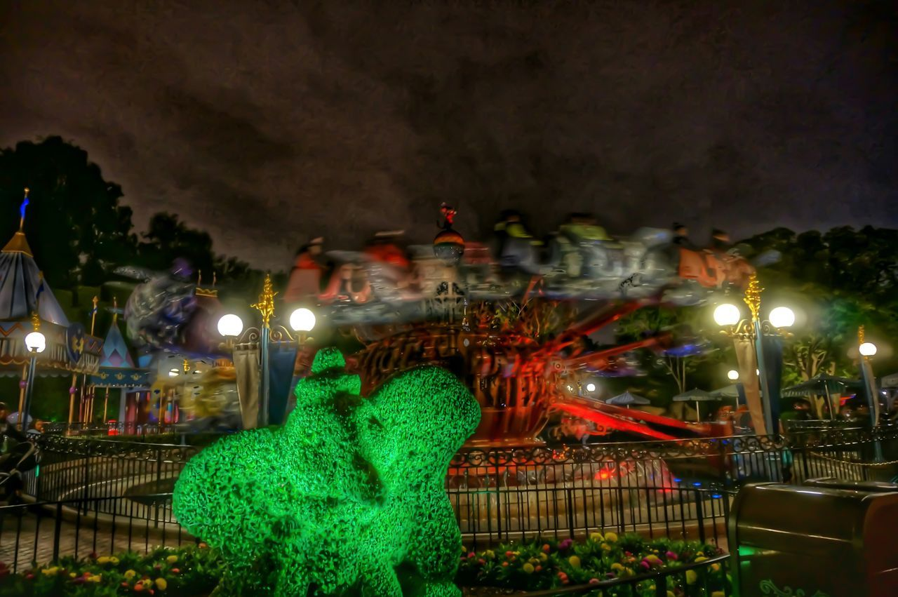 ♤♡♢♧《 Flying 》♧♢♡♤ Disneyland 60th Diamondcelebration DUMBO Nightphotography Inspire HDR Fun Animated Disney