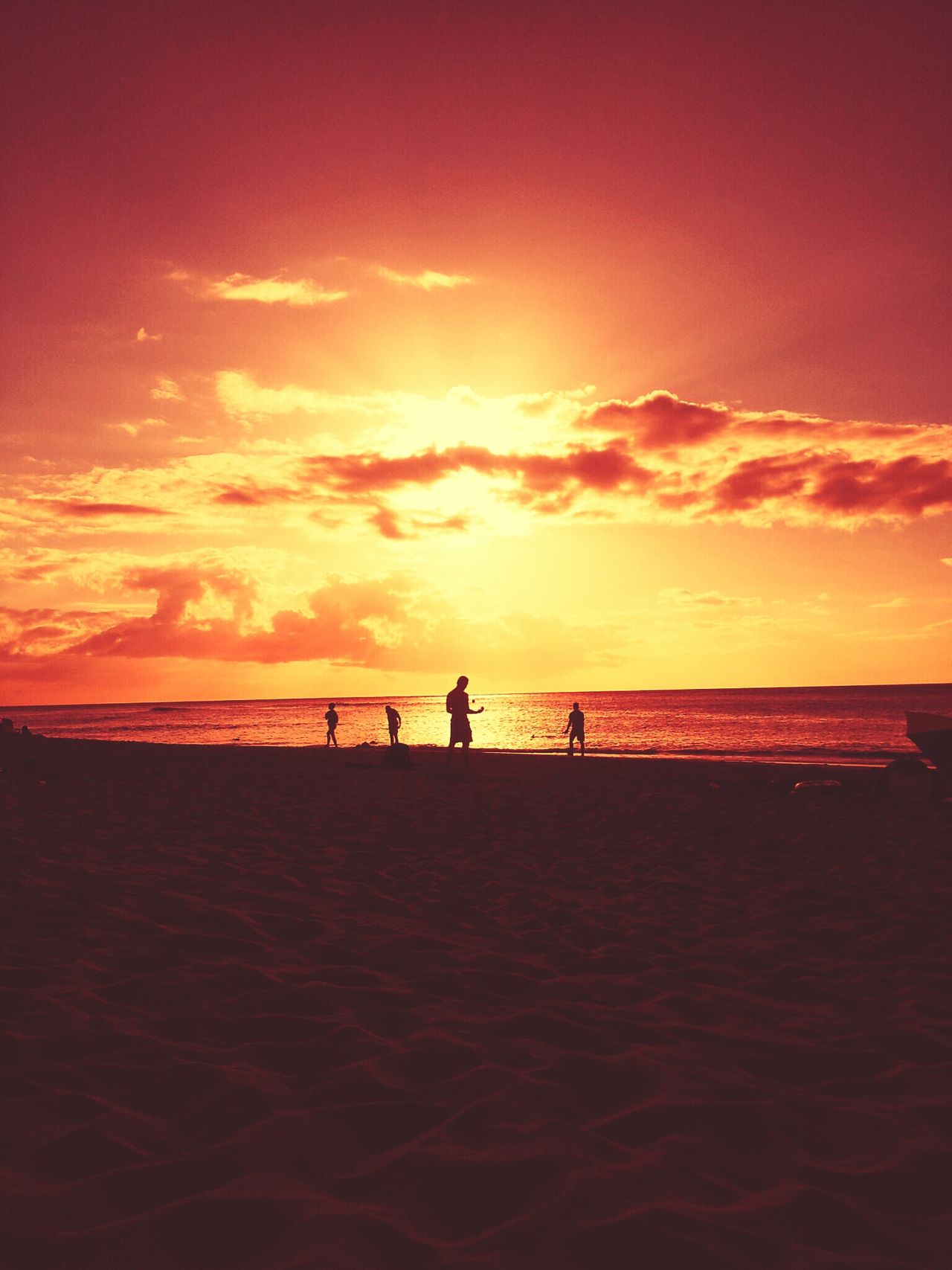 Pacific Blaze: paikura© SUNSET BEACH The Illusionist - 2014 EyeEm Awards EyeEm Best Shots Sun_collection Sunset Silhouettes
