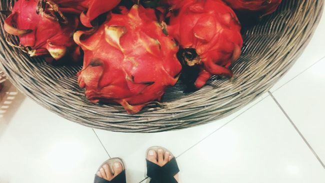 My Feets Eye4photography  Eat More Fruits Dragon Fruits Fruits they say it a miracle fruits... Getting Inspired Getting Creative