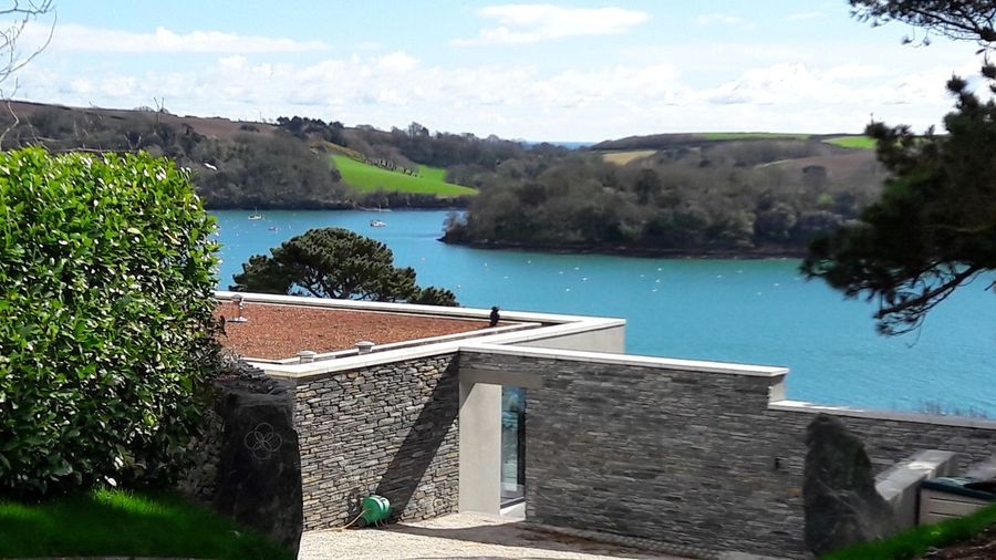 Nofilter StMawes Landscape Water England 🇬🇧 St Mawes Sunny Day 🌞 Clear Sky