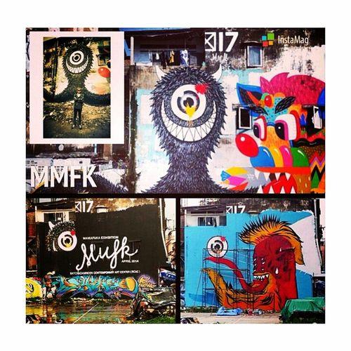 พี่ตั้ม MMFK Artist Graffiti Streetart MMFK