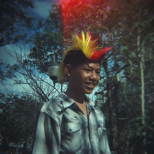 """ PUNK !! "" Camera : Stella Film : Agfa Portrait 160 Bangkok Thailand Afterzero Filmphotography Filmnotdead Agfa Portrait160 Film 120mm Mediumformat Analogue Ishootfilm Nofilter"