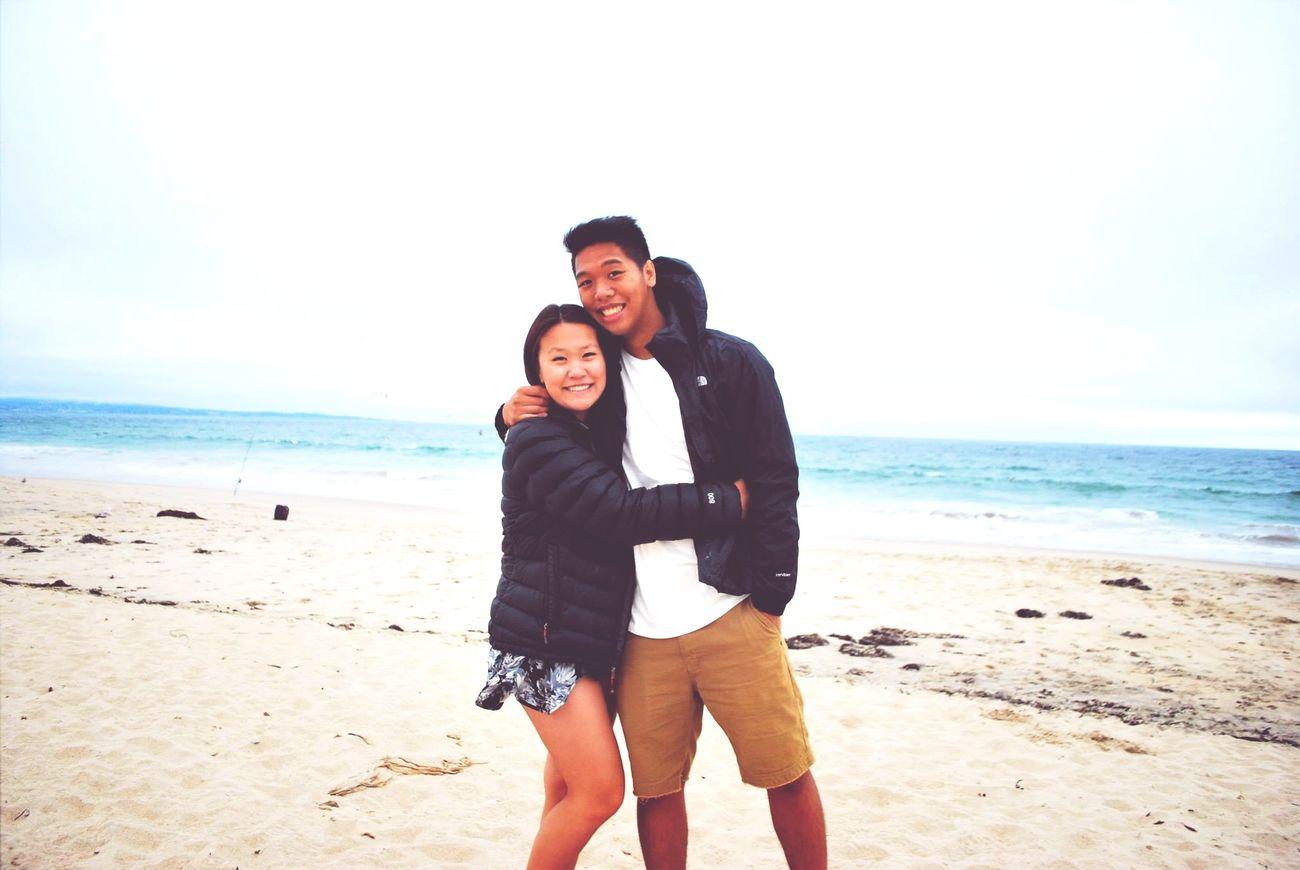 Life's A Beach Beach Couple Monterey Bay