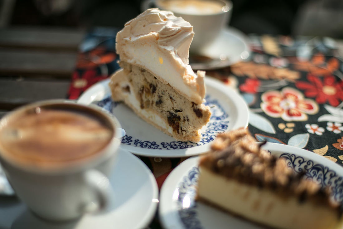 Baked Goods Cake Cheesecake Ciasto Close-up Coffee Culinary Day Desert Discover Your City Drink EyeEm Gallery Food Food And Drink Freshness Indoors  Light And Shadow No People Ready-to-eat Sweet Sweet Food Table The Week Of Eyeem