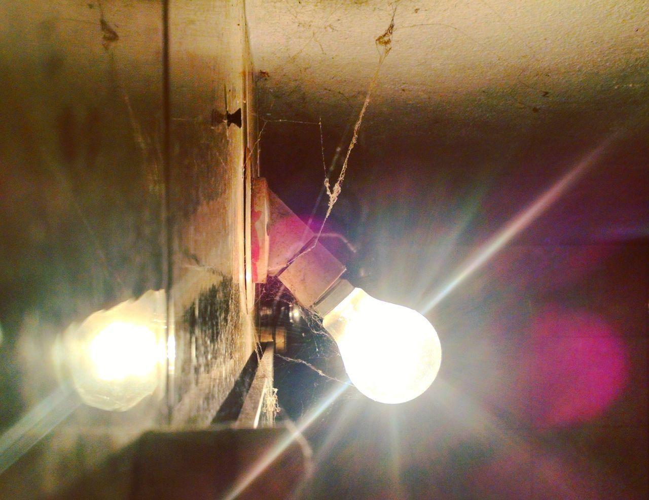 IndoorPhotography Lightporn Bulb Web Spider Spiderweb Tungsten  Bulbphotography EyeEm Gallery Lens Flare Lightrail Lightrays Bathroom