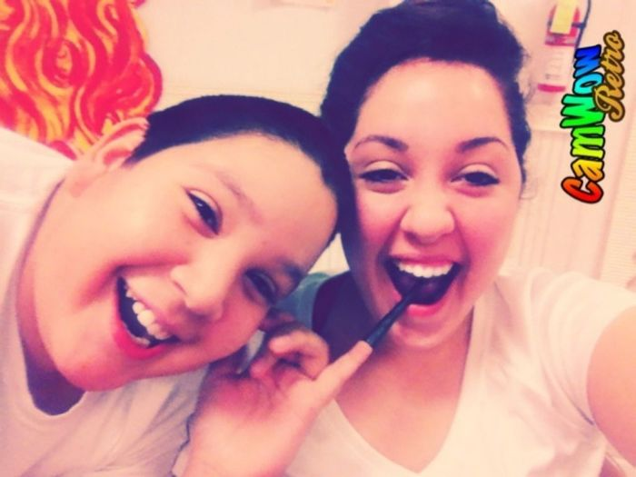 #brother && #I #ActingSilly