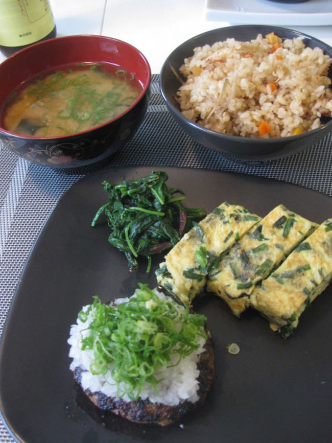 Enjoying Life Food Home Cooking Japanese Food Me Meal No People Ready-to-eat おろしハンバーグ たまご 卵焼き