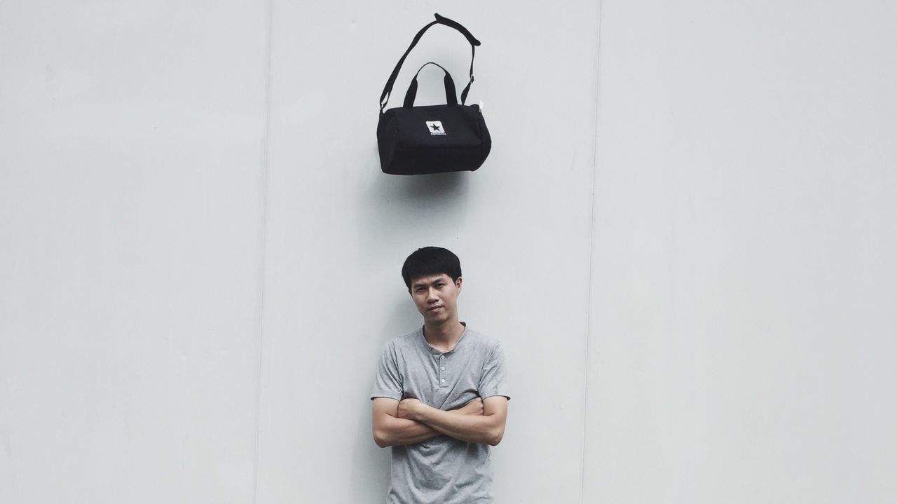 S T O P Men T-shirt Person Stopmotion Bag Converse First Eyeem Photo