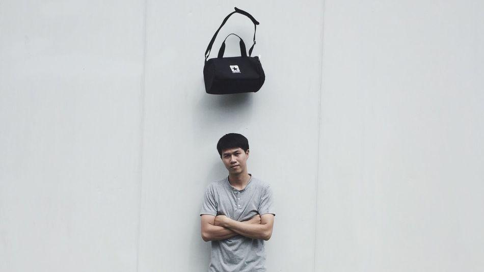 S T O P Men T-shirt Person Stopmotion Bag Converse First Eyeem Photo