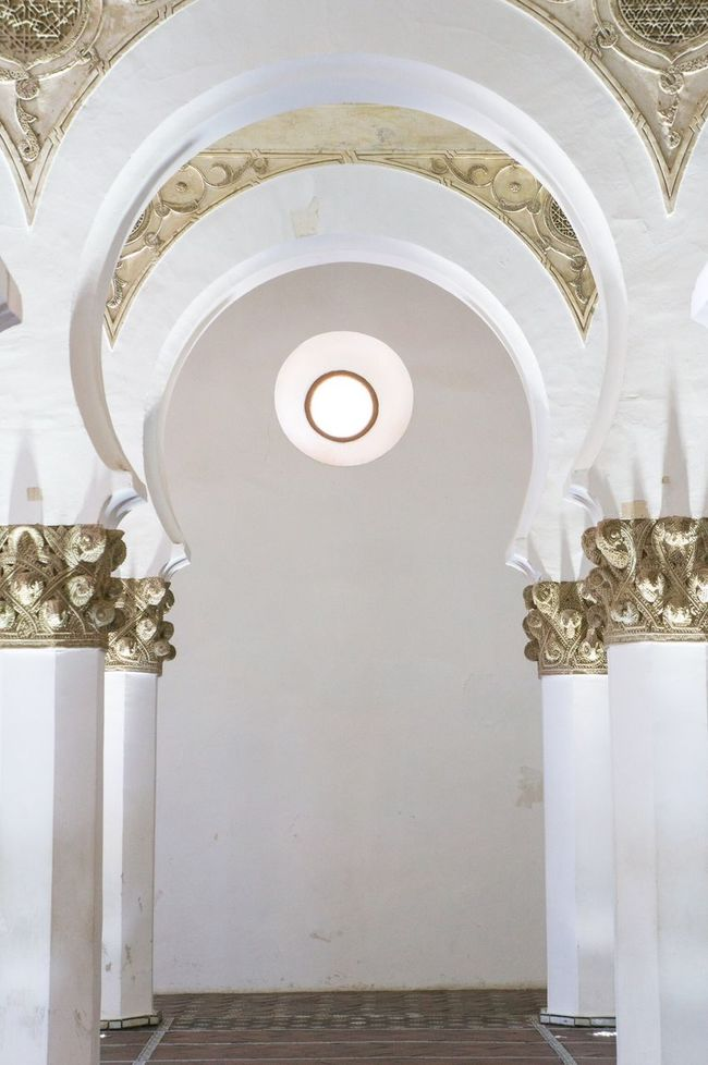 Toledo SPAIN España Synagogue White Architecture_collection Architecture Arch