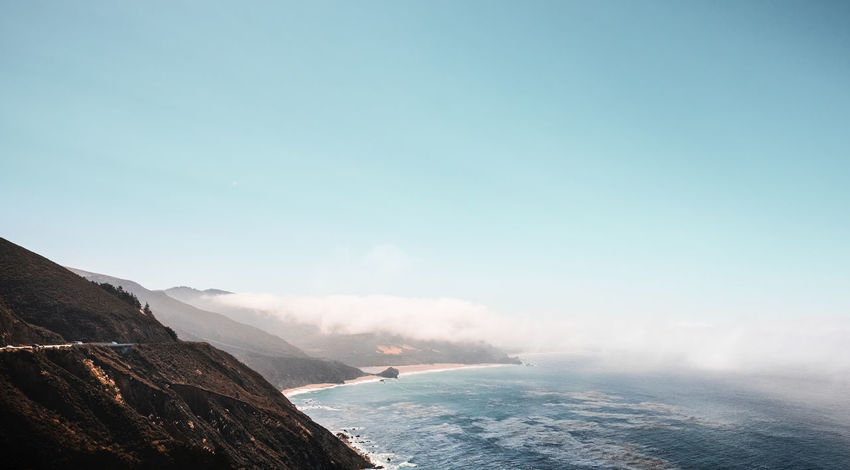 Sur-real Beauty. Big Sur, Highway 1, California, USA. Adventure Big Sur California Clouds Coast Day Exploring Fog Foggy Fujifilm Fujinon Globetrotter Hiking Landscape Landscape_Collection Landscape_photography Nature Outdoors Roadtrip Travel Travel Photography Vacation Wanderlust Wide Angle X-T10