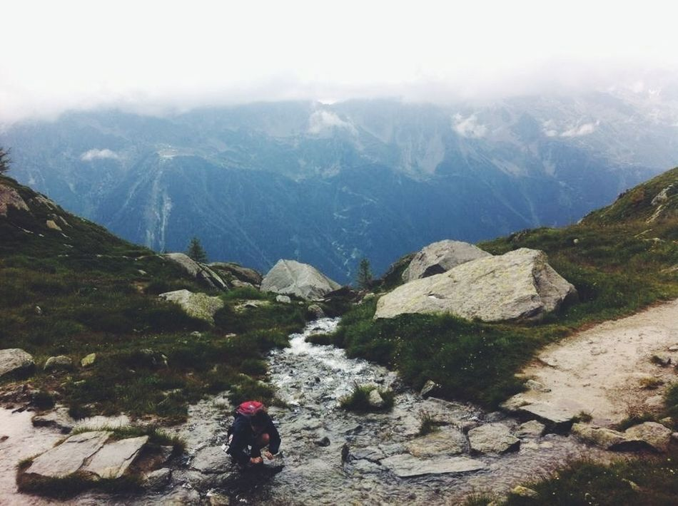 Beautiful stock photos of mountains, Backpack, Beauty In Nature, Crouching, Day