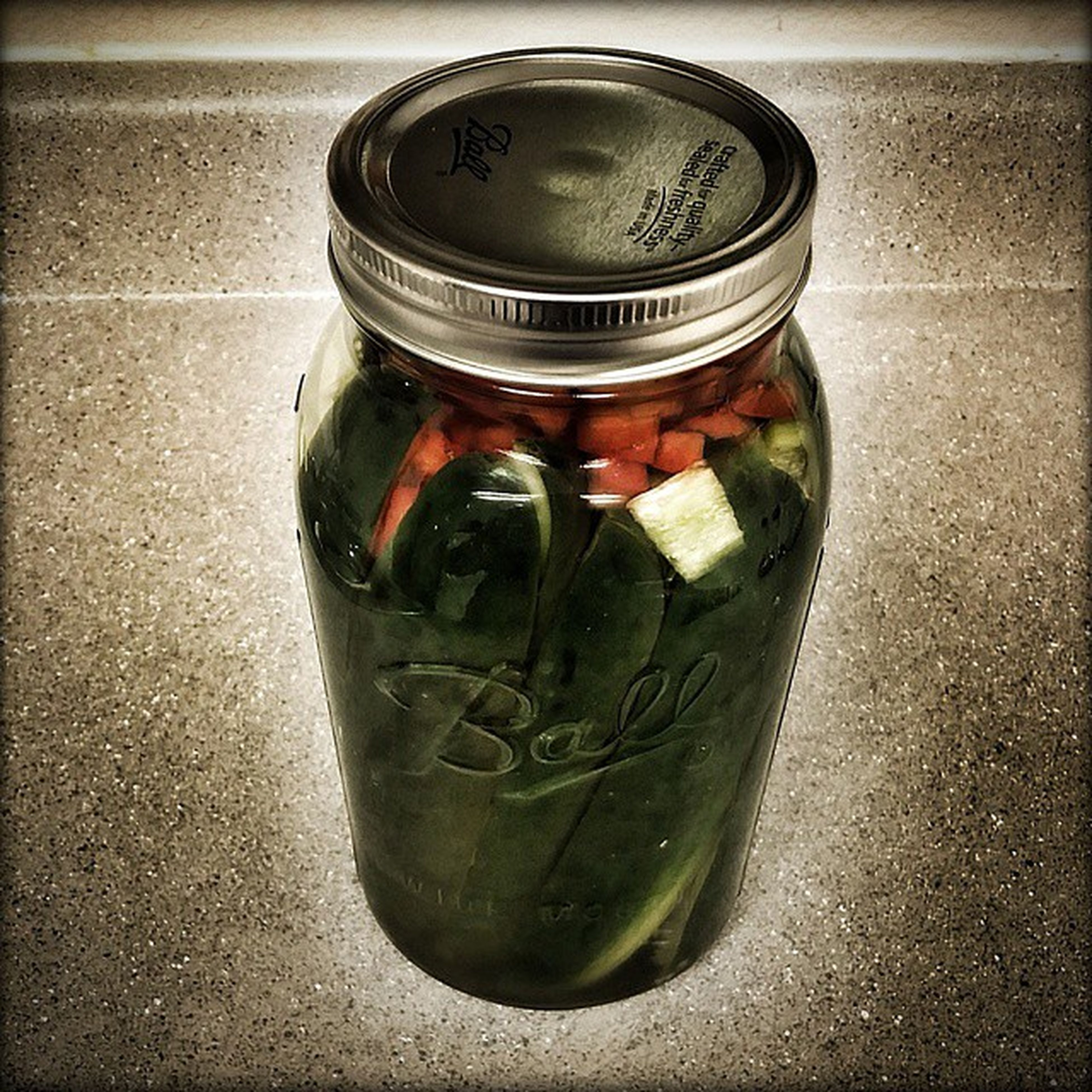 My Love @dlzrd is making Homemade DillPickles in a half gallon Ball Masonjars They will be done by Christmas . Ilovepickles DillPickleSpears PickleSpears Pickles Canning HalfGallon Cellphonephotography Pixlromatic Pictureoftheday Picoftheday Photooftheday Portorchardwashington Samsunggalaxynote3