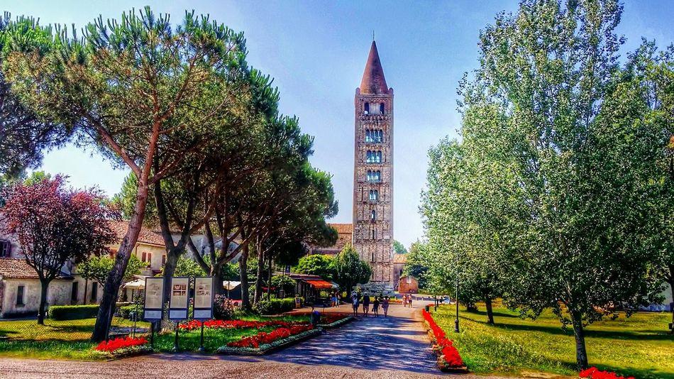 Abbazia di Pomposa ItalyArchitecture Travel Destinations Abbazia Di Pomposa Arte Torre
