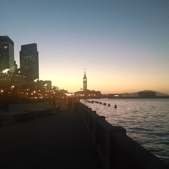 Good old Ferrybuilding Sunset