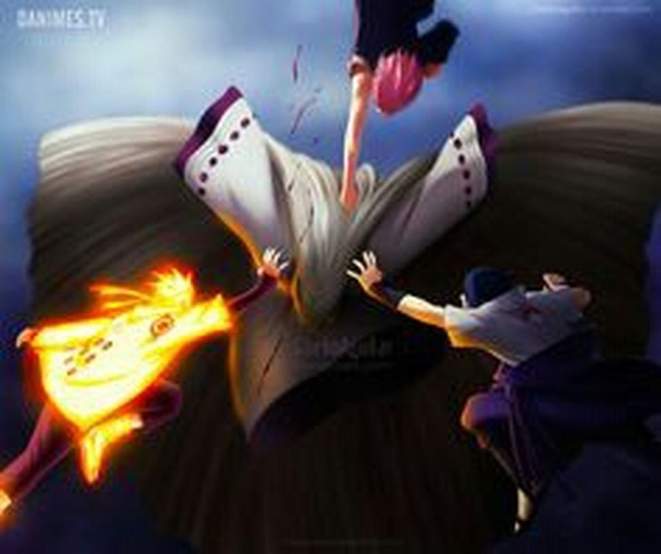 Naruto manga 689 Naruto ♥♥ Naruto Shippuden  Sasuke_Uchiha Mangekyou_sharingan Rinnegan Manga Animelover Narutoshippuden