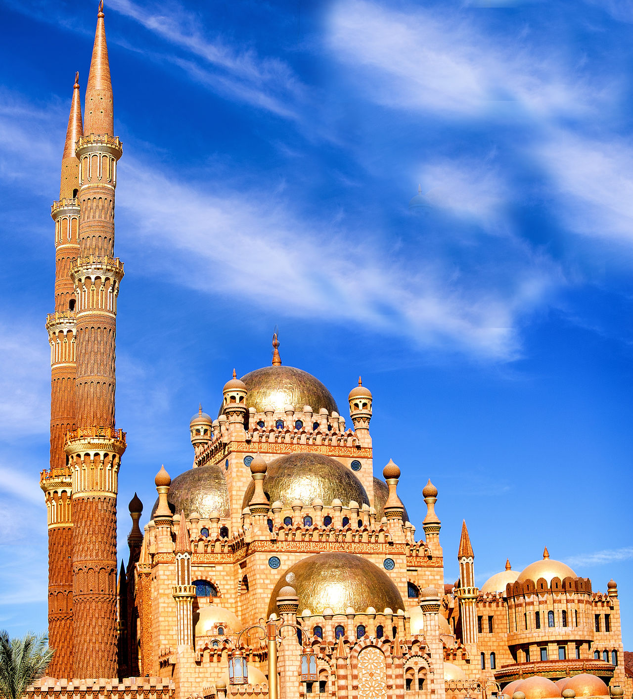 Arquitecture Blue Sky And Gold Copper Art Copperhead Egypt Gold Mosque Mosque New Mosque Old Market Mosque Oldmarket Sharmelsheikh South Sinai Travel First Eyeem Photo