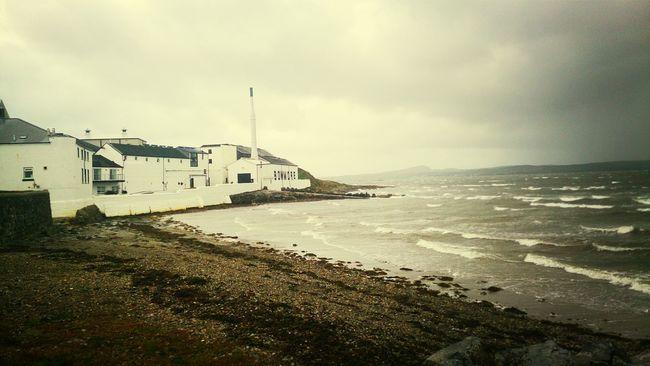 working away has its perks Drunk Scotland Islay Scenery
